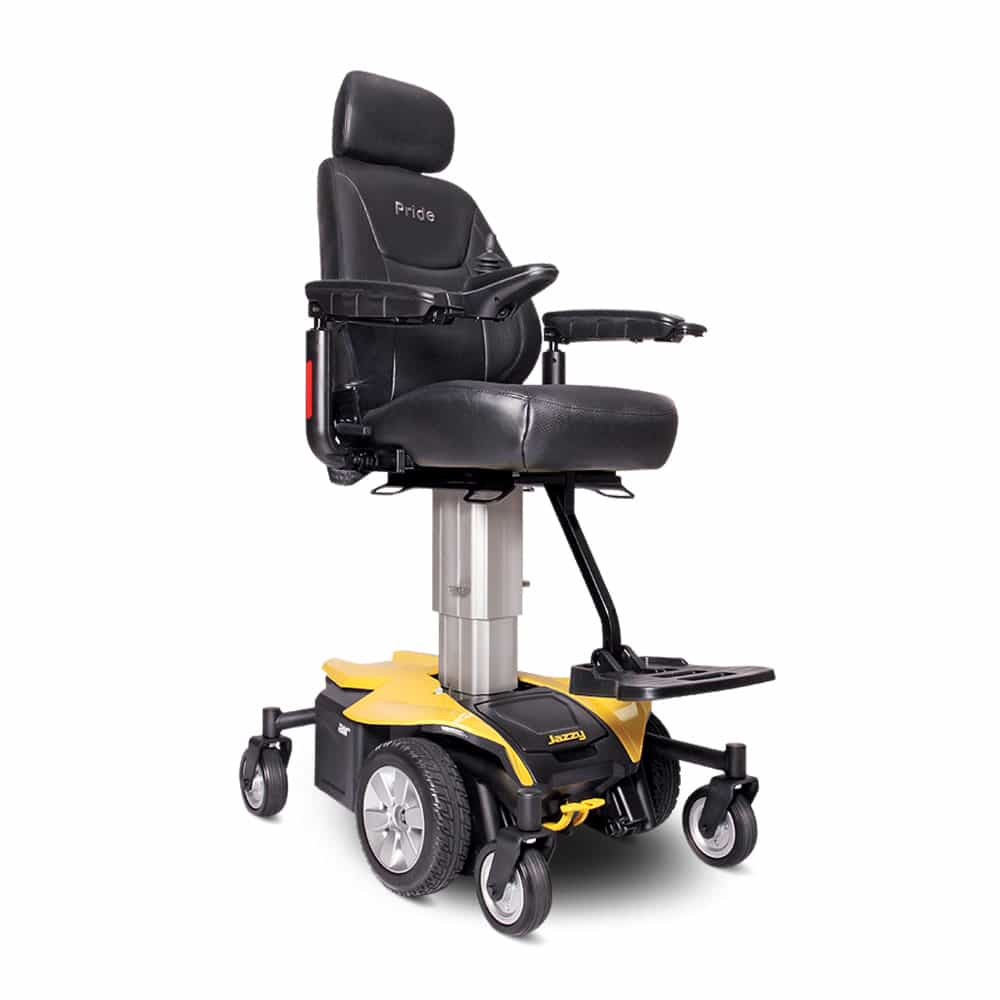 Pride Mobility Jazzy Air Citrine Yellow