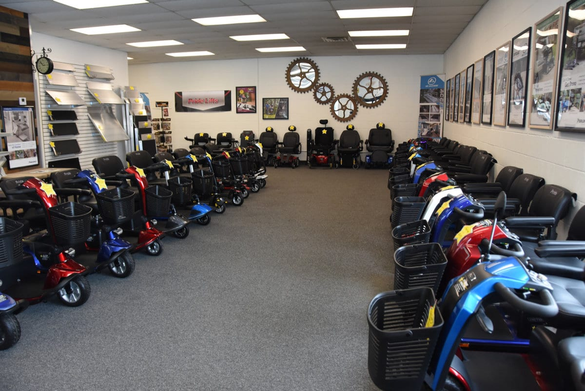 Showroom Scooters & Power Wheelchairs