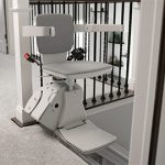 Bruno Elan Stair Lift (Seat swivels up to 90° at top for safe exit)