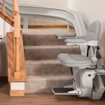 Bruno Elan Stair Lift (Top-selling curved stair lift in North America)